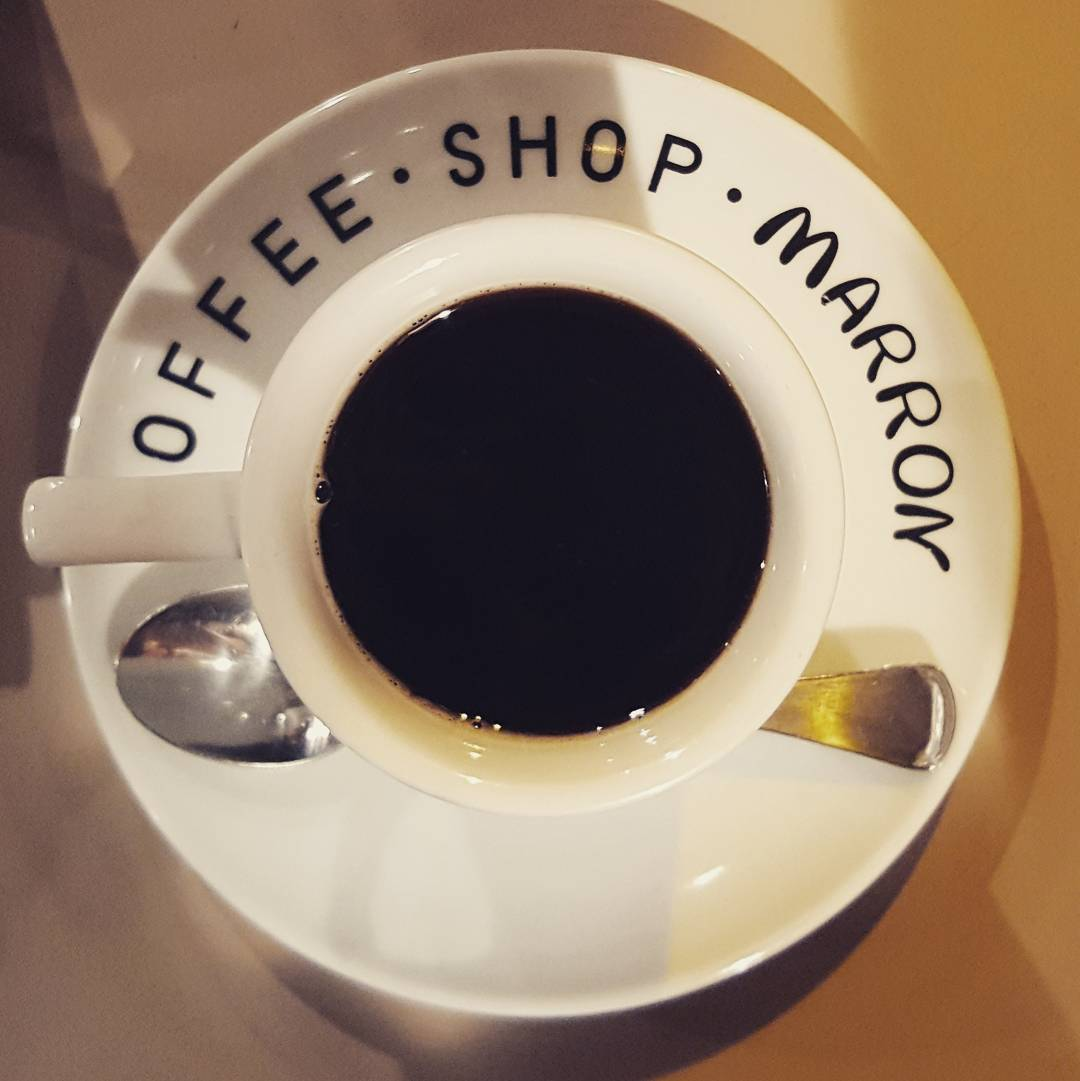 coffee shop marron