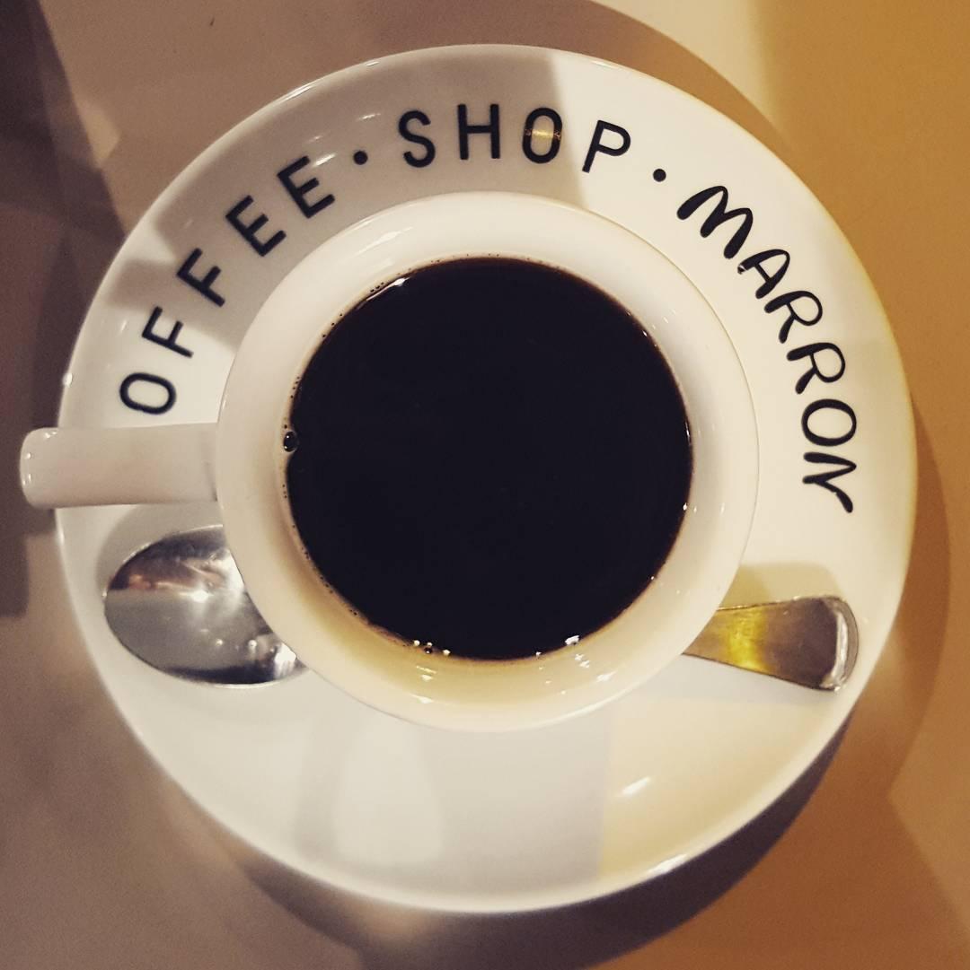 coffee shop marron